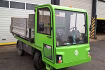 Nový elektromobil je možné vidět v Lovosicích.