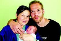 Lucii Violové a Filipu Jirsákovi z Litoměřic se 23. května v 5.43 hodin narodil v Litoměřicích syn Tobiáš Jirsák. Měřil 50 cm a vážil 3,61 kg.