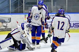 Mládežnický hokej. Ilustrační foto