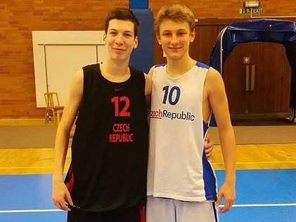 Basketbalové naděje Slavoj BK Litoměřice.