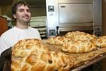Vánočka v pekařství Kohn