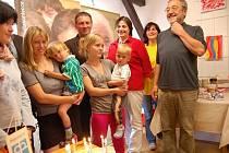 V Domově pro matky s dětmi oslavili první kulaté výročí.