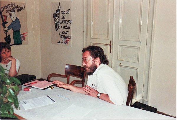 Listopad 1989 - Zdeněk Bárta