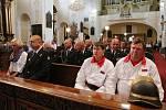 Hasičské slavnosti 2017: Floriánská mše v katedrále sv. Štěpána