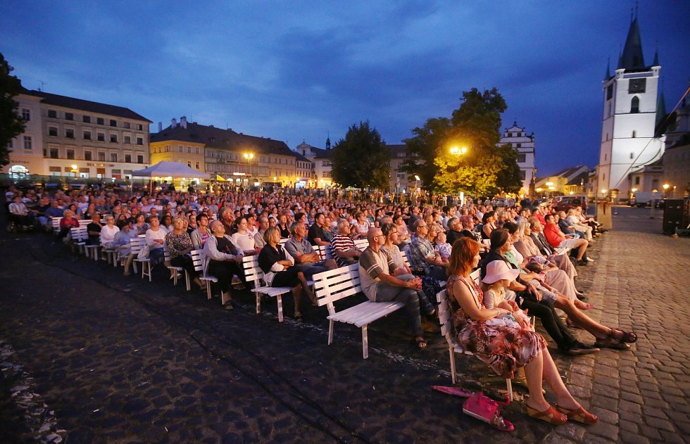 Velký letní koncert v Litoměřicích.