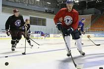 První trénink litoměřických hokejistů před novou sezonou