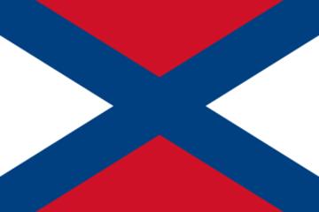 Vlajka Vidlákovy republiky.