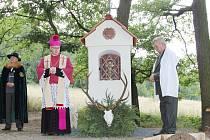 Vysvěcení kapličky sv. Huberta, 2011