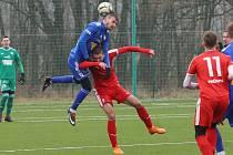 Sokol Brozany - Varnsdorf, fotbalová zimní příprava 2020