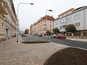 Rekonstrukce Palachovy ulice pokračuje