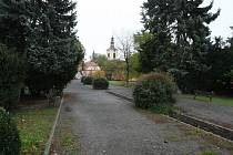 Lovosický park.