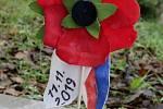 Odhalení nové lavičky při Dni válečných veteránů ve Štětí