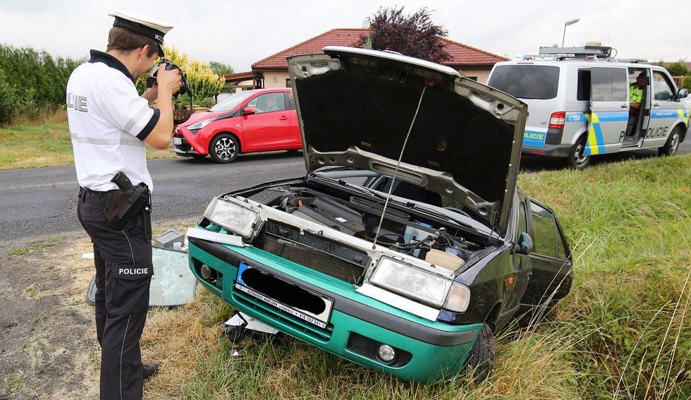 Nehoda v obci Vetlá