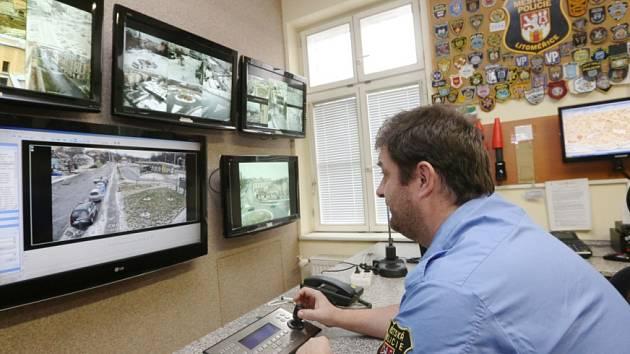 Městský kamerový systém čítá aktuálně v Litoměřicích celkem osmačtyřicet kamer.