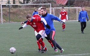 Přípravný fotbal SK Roudnice - Bohušovice