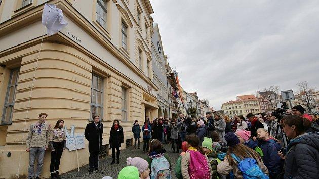 Připomínka 30. výročí sametové revoluce v Litoměřicích