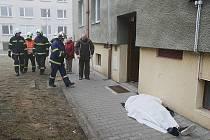 Tragická událost ve Wolkerově ulici v Lovosicích.