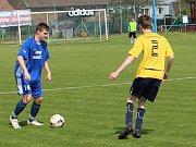 Fotbalové utkání I. B třídy sk. B Rovné - Unčín.