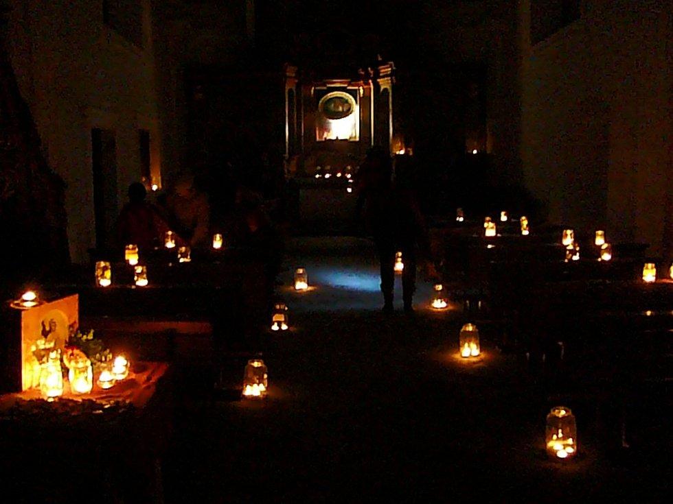 Křešice - Mariánský kostel