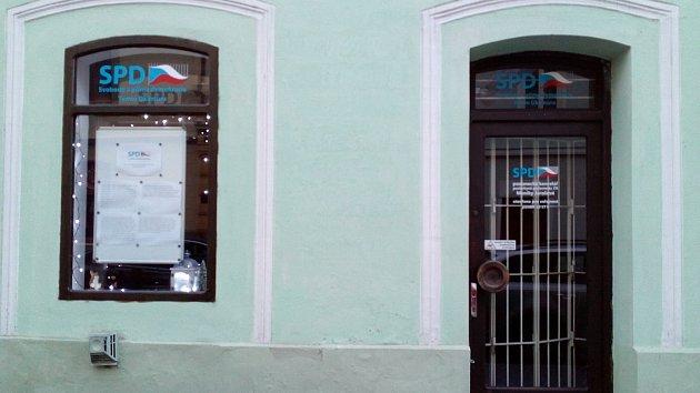 Poslaneckou kancelář otevřela v Litoměřicích novopečená poslankyně Monika Jarošová z Bohušovic.