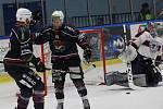 Hokejový zápas Litoměřice a Chomutov