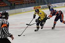 Přátelské hokejové utkání mezi Litoměřicemi a Ústím nad Labem