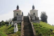Kalvárie na Ostré.