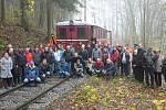 Letos se nadšencům ze Zubrnické muzeální železnice podařilo obnovit prvních 600 metrů kolejí z celkové délky úseku, která měří pět kilometrů. Druhou listopadovou sobotu po něm zkušebně projel první vlak, konkrétně historický motoráček přezdívaný Hurvínek.