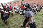 Terezínská pevnost se proměnila v dějiště bitvy z Pána prstenů