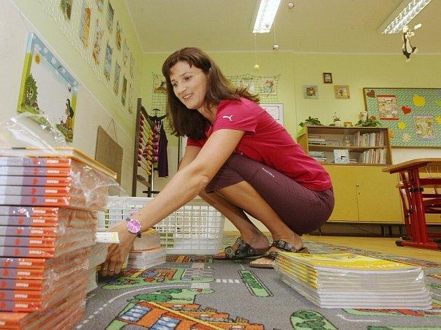 Příprava na nový školní rok v ZŠ Terezín.