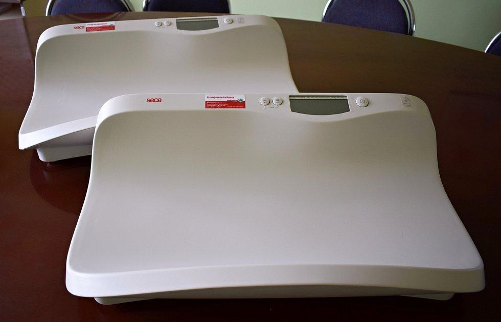 Nové váhy v litoměřické nemocnici