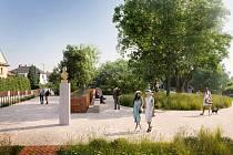 Město Roudnice nad Labem plánuje celkovou úpravu Smetanova náměstí.