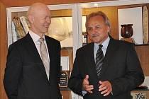 Norský velvyslanec Eikaas přijal pozvání starosty Litoměřic.