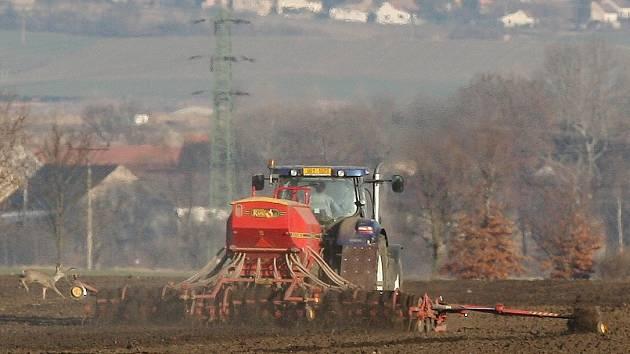 Zemědělské jarní práce