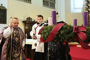 Adventní čas začal i v Litoměřicích.