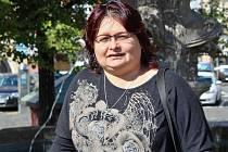 Kandidátka Alena Kotyková, která jde do voleb v Chotiměři za sdružení Ženy v akci.