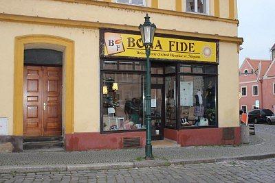 Obchod Bona Fide vMichalské ulici.