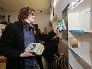 Nová knihobudka na dolním nádraží v Litoměřicích