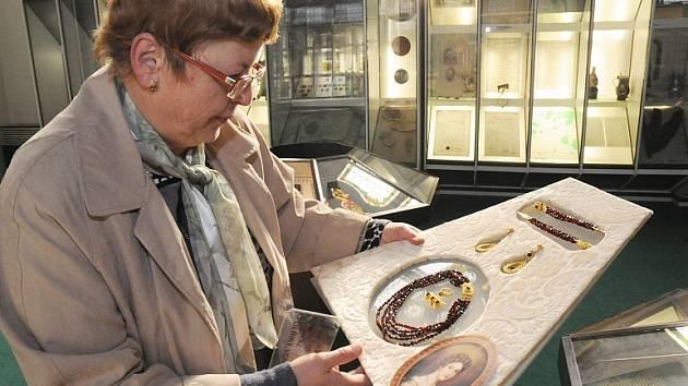 Kolekce šperků třebívlické baronky Ulriky von Lewetzov.