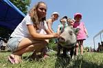 Na Ranči pod Skálou v Třebívlicích se konal Dětský den