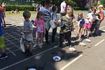 Den dětí ve školní družině na ZŠ Všehrdova v Lovosicích.