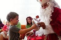 Mikulášská besídka v Centru pro zdravotně postižené děti a mládež Srdíčko v Litoměřicích