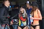 Závody ve vodním sportu v jetsurfu v Třebouticích u Litoměřic. Na motorovém prkně se střídali například herec Roman Vojtek a nebo mistryně v tomto sportu Kateřina Mičánková a Tereza Kadlecová.