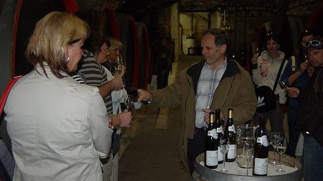 Jednou z novinek mezi turistickými lákadly na Litoměřicku je cesta výletním vláčkem z Litoměřic do Žernoseckého vinařství, kde je připravena prohlídka historických sklepů a ochutnávka vína.