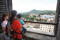 Vyhlídka z věže katedrály.