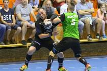 Extraliga mužů v házené, semifinále Lovosice – Karviná