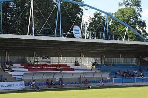 Sportovní areál Pod Lipou v Roudnici nad Labem.