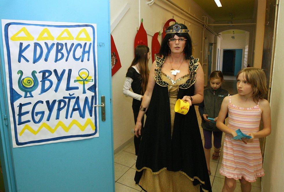 Muzejní a galerijní noc připravila Knihovna Karla Hynka Máchy v Litoměřicích v roce 2013