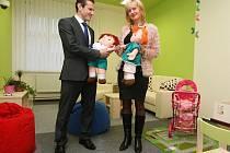 Na sociálním odboru MěÚ Litoměřice byla otevřena voná výslechová místnost pro děti.
