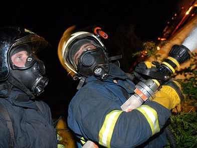 Požár v Nížebohách